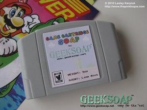 Image of 64-Bit Game Cartridge GEEKSOAP