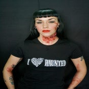 Image of I Love Haunted! Womens Tee