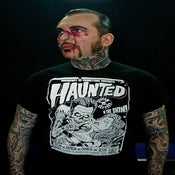 Image of Haunted Tattoos Poster Tee