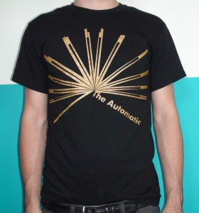 "Image of The Automatic ""Interstate"" Gold/Black T-Shirt"