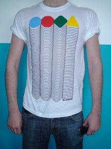 """Image of NEW The Automatic """"Tear The Signs Down"""" Album T-Shirt"""