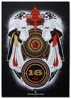 Image of 16 - Tour Poster 2010