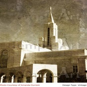 Image of Bountiful Utah LDS Mormon Temple Art 003 - Personalized Temple Art