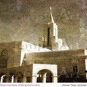 Image of Bountiful Utah LDS Mormon Temple Art 003 - Personalized Temple Art