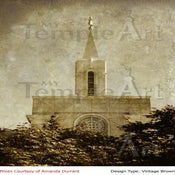 Image of Bountiful Utah LDS Mormon Temple Art 002 - Personalized Temple Art