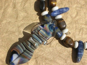 Image of Earth and Sky Goddess Necklace