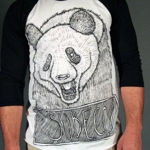 Image of Panda Raglan Shirt