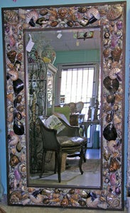 Image of Big Sur Seashell Mirror