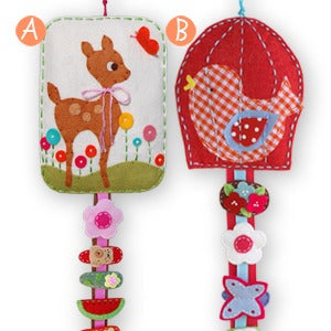 Image of hair clip holder #2