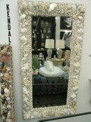 Image of Carmel, White Seashell Mirror
