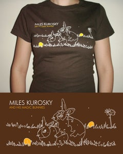 Image of Paint-By-Numbers Bunny T-Shirt