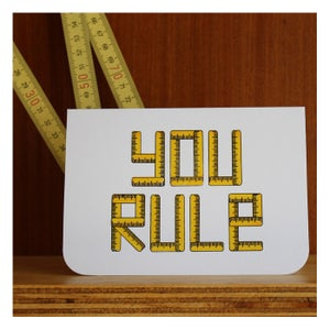 Image of YOU RULE by Katydid