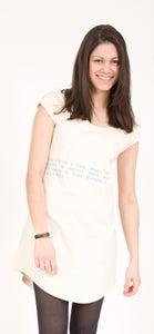 "Image of T-Shirt Kleid  ""Yiddish Mentsh"""