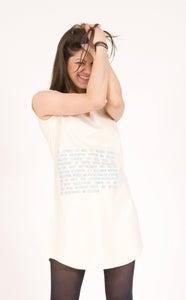 "Image of T-Shirt Kleid ""Völkermord"""