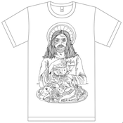 Image of Zombie Jezus Shirt - White