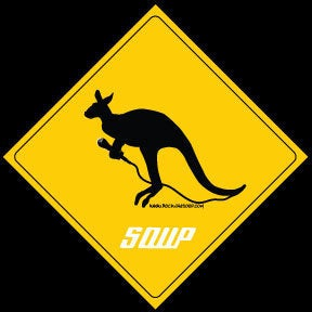 Image of Kangaroo Sticker
