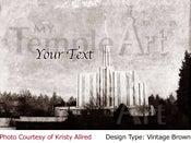 Image of Seattle LDS Mormon Temple Art 001-Personalized Temple Art