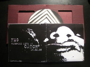 "Image of F.M.G ""live at Catch"" ML007 CDR"