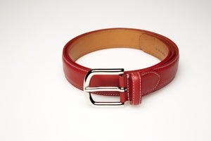 Image of Belt Red Leather