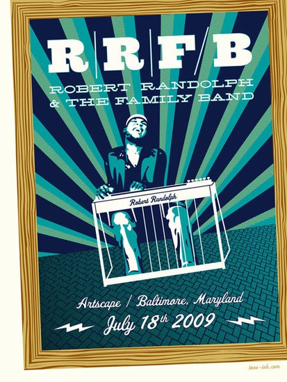 Image of Robert Randolph & The Family Band - Artscape '09