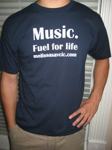 """Image of """"Music. Fuel For Life"""" T-shirt"""