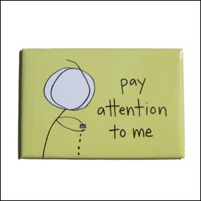 Mean Cards — pay attention to me - MAGNET