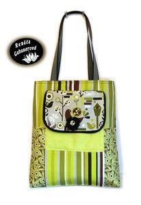 Image of Fabric Bag Spring Garden