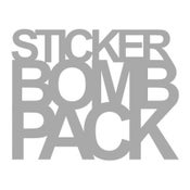 Image of STICKER BOMB PACK - 10 pack