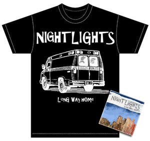 "Image of ALR: 011 Nightlights ""Long Way Home"" CD/T-SHIRT BUNDLE 50%OFF"