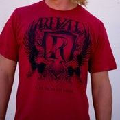 Image of Crest Tee - Red