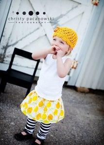 Image of Lovely Lemon - Baby, Toddler, Girls - Boutique Twirl Skirt
