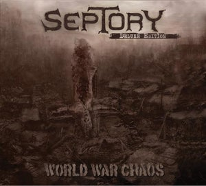 Image of SEPTORY - World War Chaos DIGI-CD