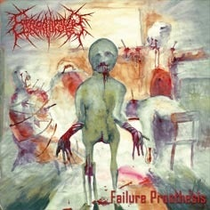 Image of COPROBAPTIZED CUNTHUNTER - Failure prosthesis DIGI-CD