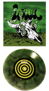"""Image of Stay Solo // AM - Green Swirl 7"""""""