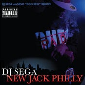 Image of DJ SEGA- New Jack Philly mixedtape CD
