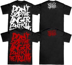 Image of WORDS T-Shirt Black / Man-Woman
