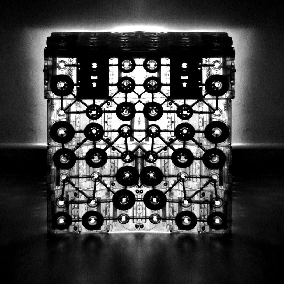 cassette hypercube ooo my design. Black Bedroom Furniture Sets. Home Design Ideas