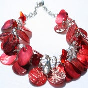 Image of Tiara Shells - Red