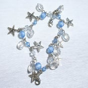 Image of Tiara Charms - Blue Stars