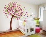 Image of Vinyl Wall Decal Art - Trailing Cherry Blossom Tree - dd1012