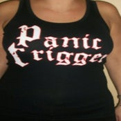 Image of panic trigger tank top
