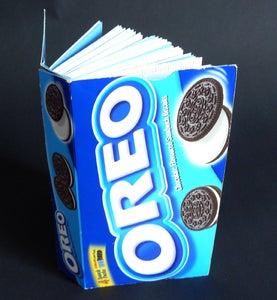 Image of Upcycled Oreo Notebook
