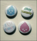 Image of Set of 4 badges