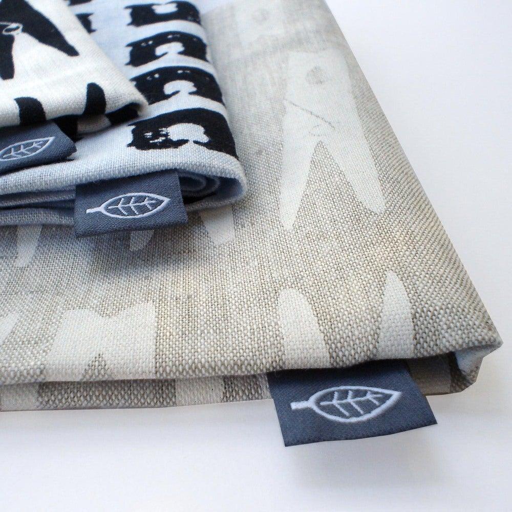 Image of Peg tea towel - natural