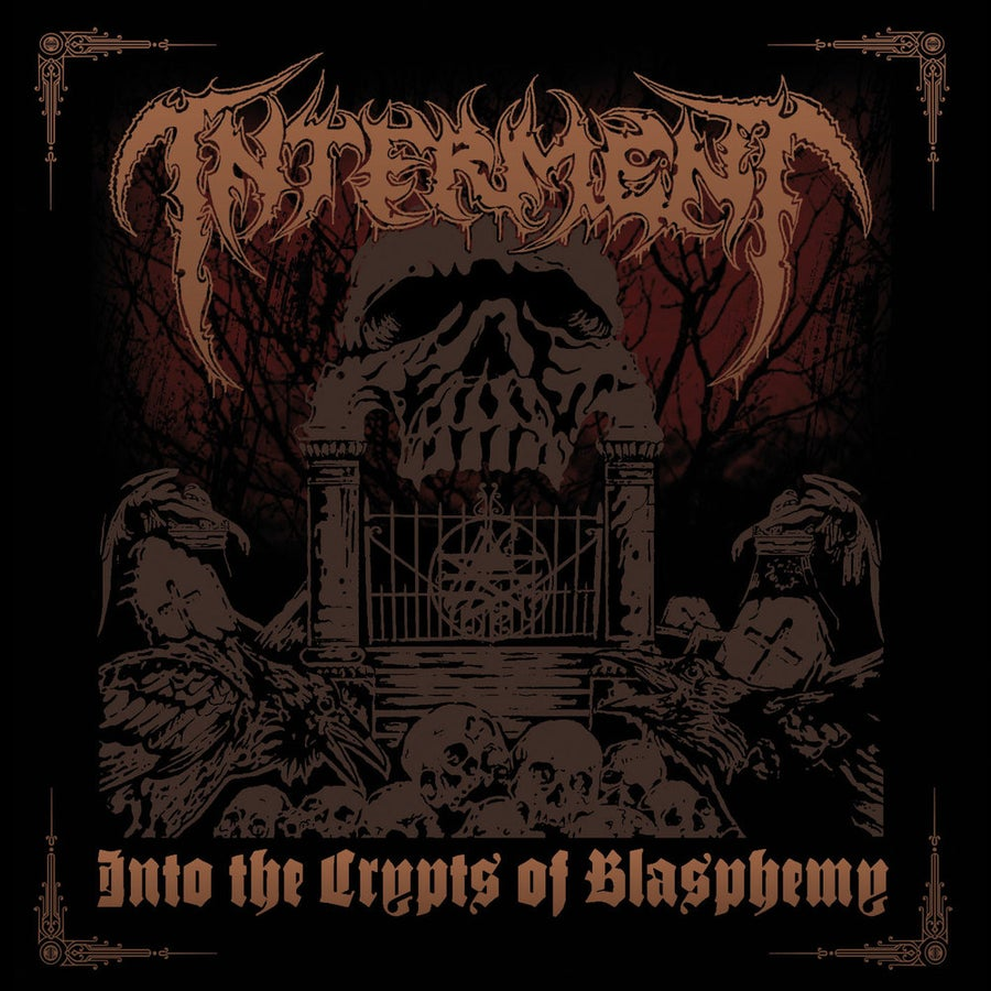 """Image of INTERMENT """"Into The Crypts Of Blasphemy"""" CD"""