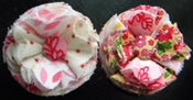 Image of Fabric Flower Hairclips {101}