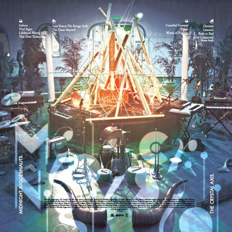 Image of ACE011 - Midnight Juggernauts - The Crystal Axis