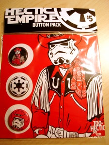 Image of Hectic Empire Button Pack
