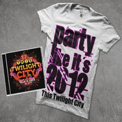 "Image of Pre-Order ""Vegas In Lights"" (Autographed) + NEW Party Like Its 2012 T-Shirt"