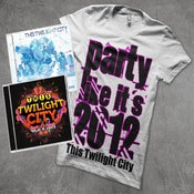"Image of Pre-Order ""Vegas In Lights"" (Autographed) + ""Just Breathe"" EP and Party Like Its 2012 T-Shirt"